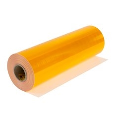 "4091 Yellow 3Mâ""¢ Diamond Gradeâ""¢ Cubed (DG3) Reflective Sheeting 762mm x 45.7m roll"