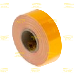 "4091 Yellow 3Mâ""¢ Diamond Gradeâ""¢ Cubed (DG3) Reflective Roll 50.8mm x 45.7m roll"