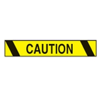 AISLE MARKING TAPE B-950 CAUTION