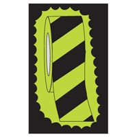 GLOW-IN-DARK TAPE B-324 DIAG STRIPE 50MM