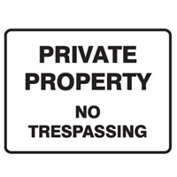 PRIVATE PROPERTY NO TRES.. 450X600 MTL