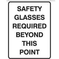 SAFETY GLASSED REQUIRED..450X300 MTL