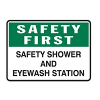 SAFETY FIRST SAFETY SHOWER..300X450 MTL