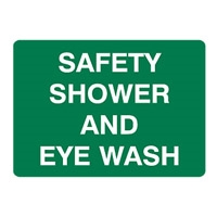 SAFETY SHOWER AND EYE WASH 180X250 SS