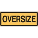 VEH & TRUCK ID SIGN OVERSIZE REF M
