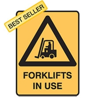 FORKLIFTS IN USE 450X300 POLY