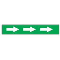 AISLE MARKING TAPE B-950 ARROWS WHT/GRN