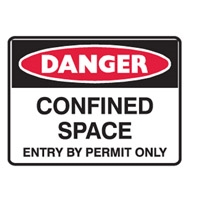 CONFINED SPACE ENTRY BY.. 600X450 POLY