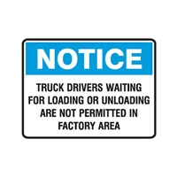 NOTICE TRUCK DRIVES WAINT..450X300 POLY