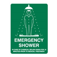 EMERGENCY SHOWER 250X180 SS