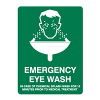 EMERGENCY EYE WASH 250X180 SS