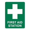 FIRST AID STATION 600X450 POLY