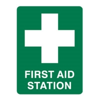 FIRST AID STATION 300X225 MTL