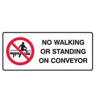 NO WALKING OR STANDING.. 180X450 SS