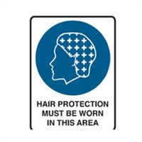 HAIR PROTECTION MUST BE.. 300X225 POLY