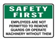 EMPLOYEES ARE NOT PERMIT.. 450X300 POLY