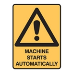 MACHINE STARTS AUTOMATICALLY LBLS PK5