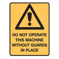 DO NOT OPERATE THIS MACHINE..LBLS PK5