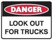 LOOK OUT FOR TRUCKS 300X225 POLY