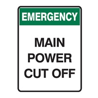 EMERGENCY MAIN POWER CUT OFF 300X450 MTL