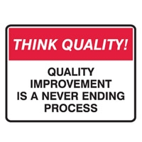THINK QUALITY QUALITY IMPROVEMENT.. POLY