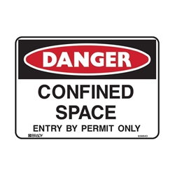 CONFINED SPACE ENTRY BY.. 300X225 POLY