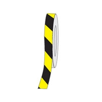 HAZ STRIPE ANTI-SLIP TAPE 50MM BLK/YEL