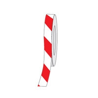 HAZ STRIPE ANTI-SLIP TAPE 50MM RED/WHT