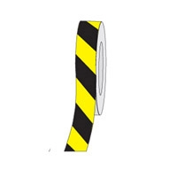 HAZ STRIPE ANTI-SLIP TAPE 75MM BLK/YEL
