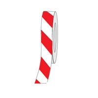 HAZ STRIPE ANTI-SLIP TAPE 75MM RED/WHT