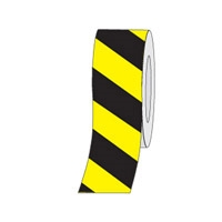 HAZ STRIPE ANTI-SLIP TAPE 150MM BLK/YEL