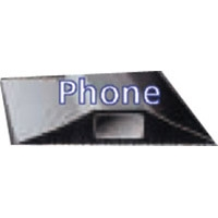 CABLE PROTECTOR PHONE 16X8MM HOLE