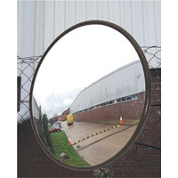 OUTDOOR ACRYLIC MIRROR W/MOUNT 812MM DIA