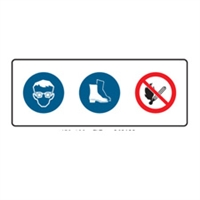 MULTI COND SIGN SAFETY SYMS 450X180 MTL