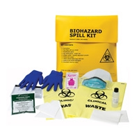 Biohazard Clean Up Kit, First Aid, Sold Per Ea  With Qty Of  1