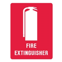 FIRE EXTINGUISHER LBLS PK5