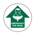 FLOOR SIGN EMERGENCY EYE WASH ARR/U