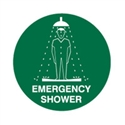 FLOOR SIGN EMERGENCY SHOWER