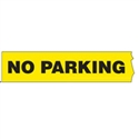 PRINTED BARRICADE TAPE NO PARKING