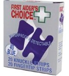 FAC BLUE ASSORTED STRIP BOX 40