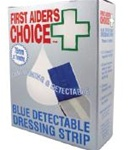 FAC BLUE DETECT DRESSING STRIP 7.5CMX1M