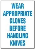 Hygiene & Food Sign Wear Appropriate.. , Safety Signs, Sold Per Sgn With Qty Of  1