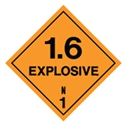 EXPLOSIVE 1.6 LABELS 50MM PK50