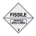 FISSILE 7 LABELS 25MM ROL 1000
