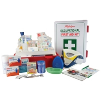 Mining First Aid Kit Abs Wallmount, First Aid, Sold Per Kit With Qty Of  1
