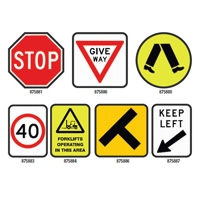 Flashing Give Way Sign LED