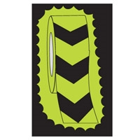 GLOW-IN-DARK TAPE B-324 V STRIPE 75MM