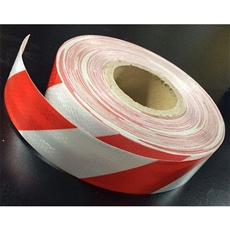 Class 1 Reflective Tape Red/White 50mm x 45.7mtr roll
