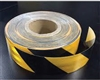 Class 1 Reflective Tape Yellow/Black 50mm x 45.7mtr roll