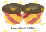 3M Class 1 Reflective Tape Red/Yellow 75mm x 45.7mtr roll